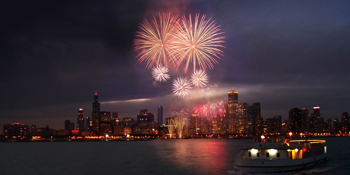 HD Images and Wallpaper of 4th of July Fireworks Chicago 2016