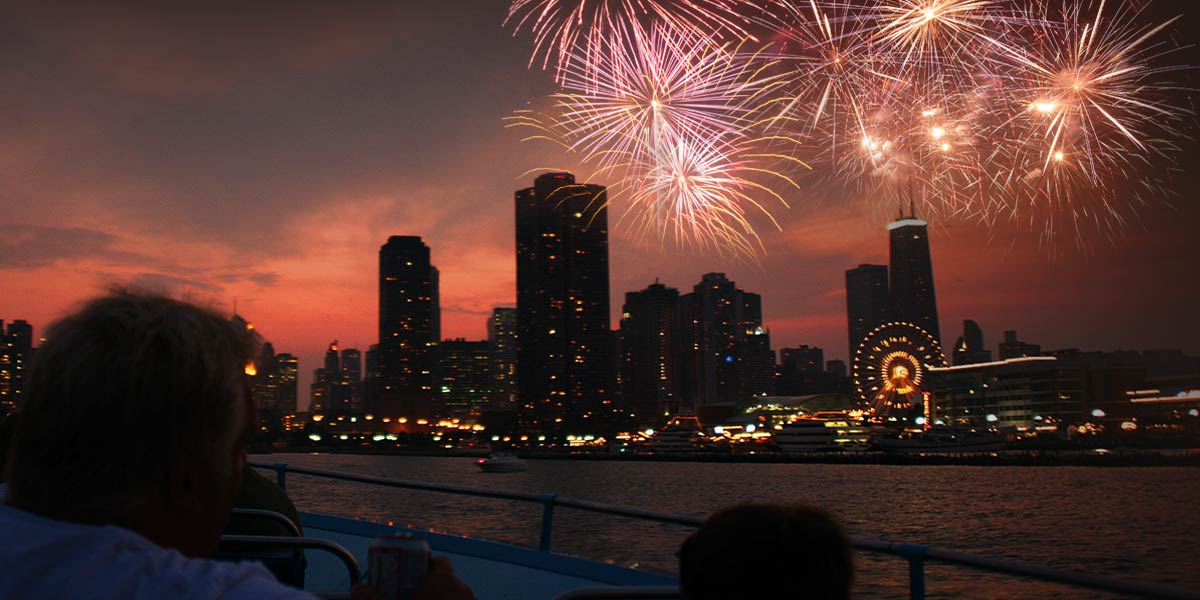 Chicago 4th of July fireworks 2016